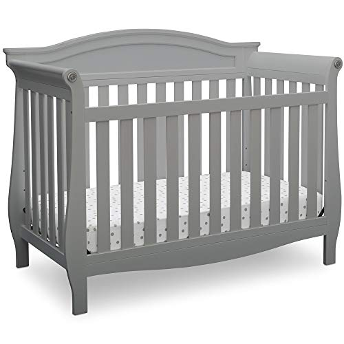 Delta Children Lancaster 4-in-1 Convertible Baby Crib, Grey from Delta Children