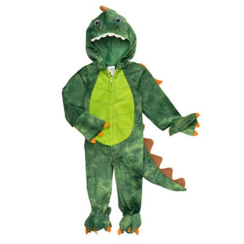Koala Kids Infant Boys Plush Green Dragon Costume Dinosaur Jumper -