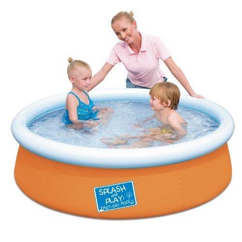 hasta un 70% de descuento Bestway My First Fast Set Pool, naranja naranja naranja by Bestway Juguetes Domestic  en venta en línea