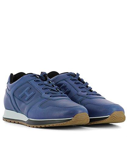 Uomo Hogan Hxm3210k150i8su412 Pelle Sneakers In Blu AqxdCqcw