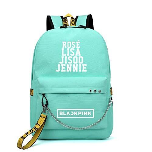 Rainlemon Kpop Blackpink Backpack Lisa Rose JISOO Jennie Shouler Bag Messenger Bag