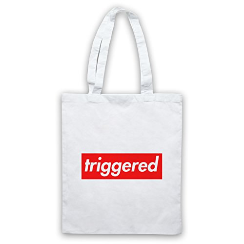 My Icon Art & Clothing Triggered Meme Bolso Blanco