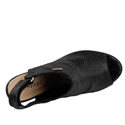 Azura Womens Limey Glamour Sandale Noir