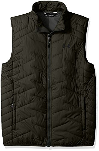 Under Armour Outerwear Men s Cold Gear Reactor Vest, Artillery Green Black,  Large 244201256186