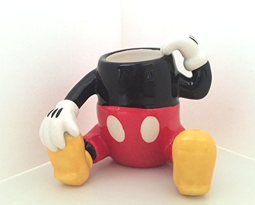 Disney Parks Mickey Mouse Figurine Ceramic Toothpick Holder NEW by Disney