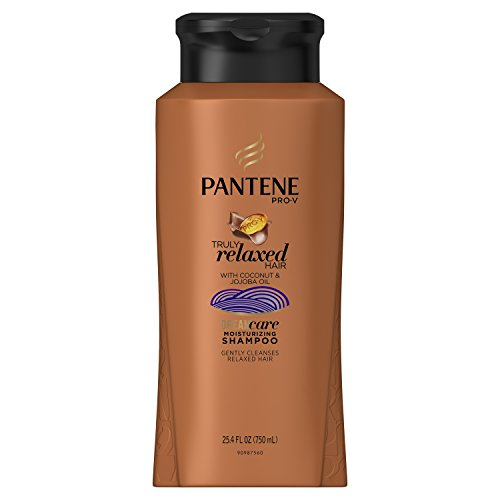 Pantene Pro-V Truly Relaxed Moisturizing Shampoo 25.4 Fl Oz (Best Hair Conditioner For Relaxed Hair)