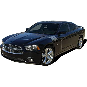 Dodge Charger 3M Blue MOPAR Style Racing Stripes Decal Vinyl Graphics 2011-2014