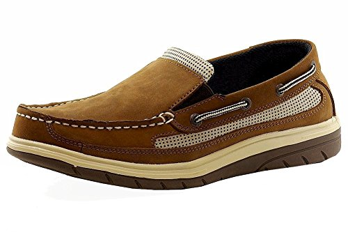 Island Surf Men's Company, Mast Boat Shoes Light Brown 8.5 M
