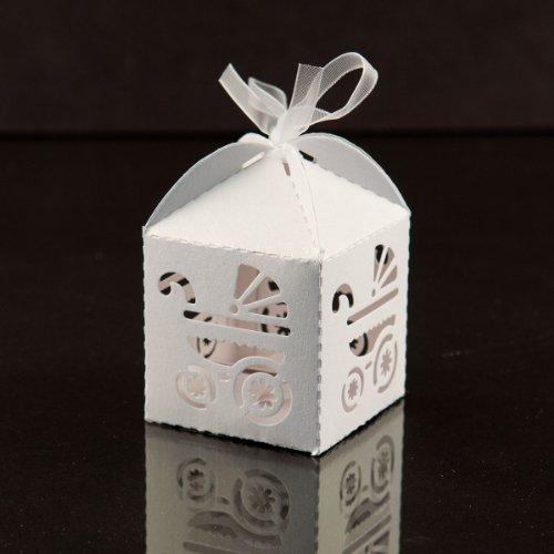Baby Shower Pram Favor Boxes - 5
