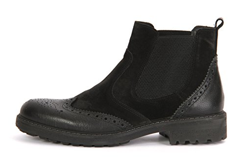 Nero Negro nero nero Hombre 6670000 Zapatos Llanos nero PwqAvCv