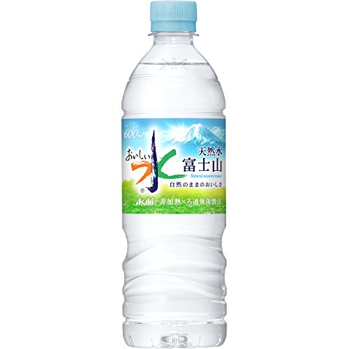 Asahi delicious water Fuji this 600mlX24 by Delicious