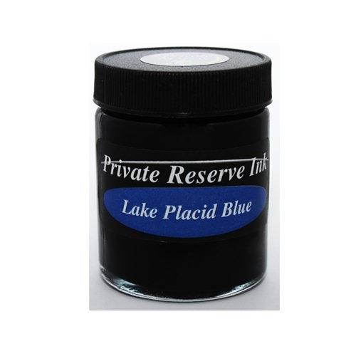 Private Reserve 66ml Lake Placid Blue Bottled Ink - PR-02-LPB