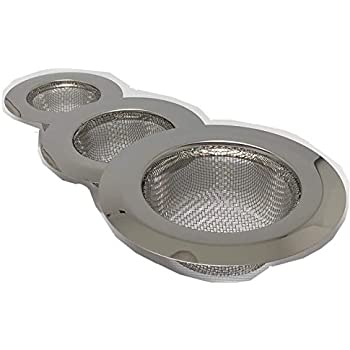 Set Of 3 Large Medium Small Sink Strainer For Kitchen