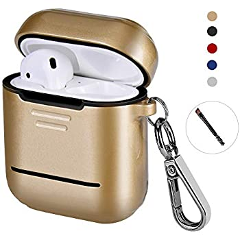 Amazon.com: Metal Airpods Case 2019 Newest Full Protective