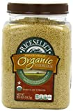 Couscous, 95% organic, Whole Wheat, 26.5 Oz (pack of 4 ) ( Value Bulk Multi-pack)