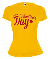 Girlie T-Shirt Happy Valentines Day
