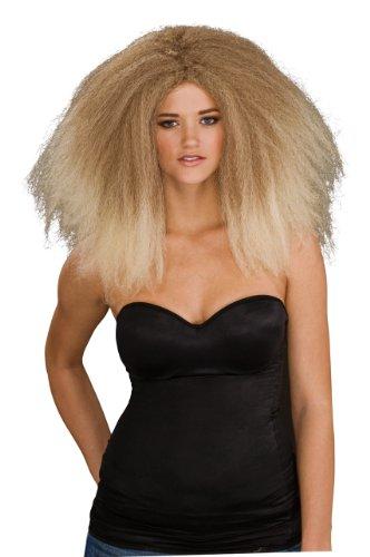 Rubie's Fashion Runway Wig, Yellow, One Size -