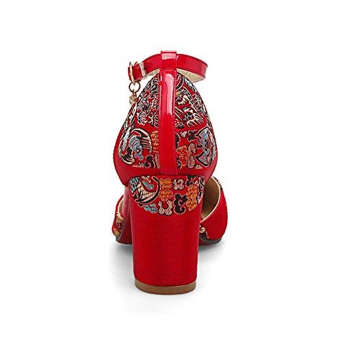 Red BalaMasa Sandales Compensées ASL05307 Femme pSP6zO
