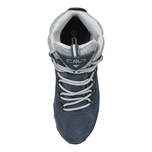 Femme Chaussures 2 Bleu Blue de CMP Black Turais N950 Hautes Randonnée 0 xAwUFqSTq0