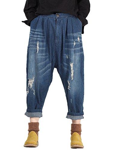 Donna fit blau Gonna Style3 Eu Matchlife 44 Pantaloni 46 wqXExH