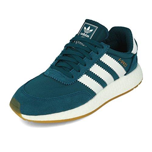 adidas I-5923 W, Zapatillas de Deporte Para Mujer Azul (Petnoc / Ftwbla / Gum3 000)