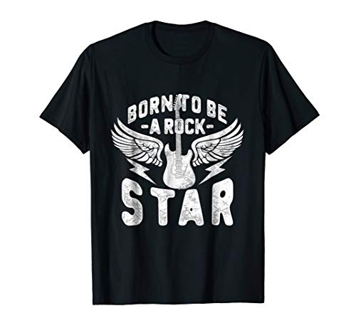 Born To Be Rock Star Tee - Rock n Roll T-Shirt]()