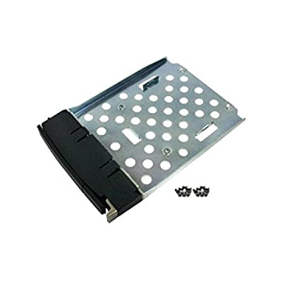 Qnap HDD Tray with Flat Head Machine Screw x16 for 2.5-Inch HDD (SP-SS-TRAY-BLACK)