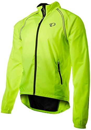 Cycling Wind Vest (Pearl Izumi - Ride Men's Elite Barrier Convertible Jacket, X-Large, Screaming Yellow)