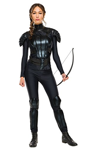 Rubie's Women's The Hunger Games Deluxe Katniss Costume Rebel Mockingjay Part 1, As As Shown, Medium]()