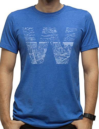 Hand-Drawn W Skyline T-Shirt (2XL) -