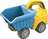 Haba Sand Play Dump Truck for Transporting and Unloading Dirt or Sand at the Beach or in the Backyard - 18 Months and Up