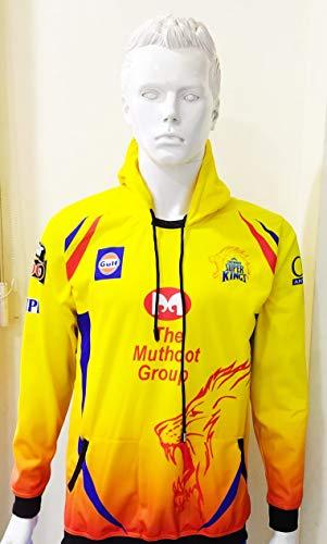 IPL Jersey Cheap price & Best Quality CSK IPL 2021 Full Sleeves Hoodie