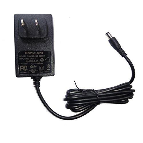 FOSCAM US Standard Power Supply 12V 2000mA -Black