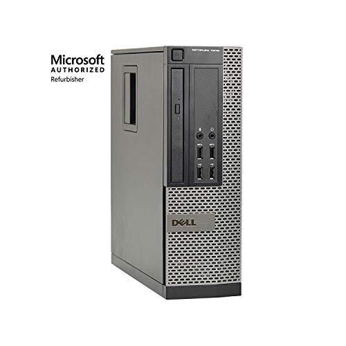 Desktop Laptop Dell - Dell Optiplex 7010 SFF Premium Flagship Business Desktop Computer (Intel Quad-Core i7-3770 3.4GHz, 8GB RAM, 240GB SSD, DVD, VGA, DisplayPort, WiFi, Windows 10 Professional) (Renewed)