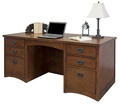 Martin Furniture MP680 Double Pedestal Executive Desk