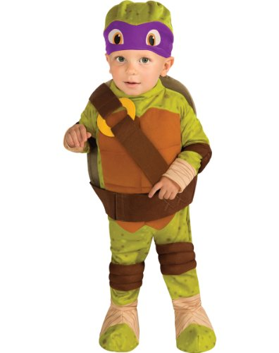 Teenage Mutant Ninja Turtle Donatello Toddler Costume 1-2 years Halloween Costume