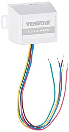 Venstar ACC0410 Add-A-Wire Accessory for All 24 VAC Thermostats (4 ...