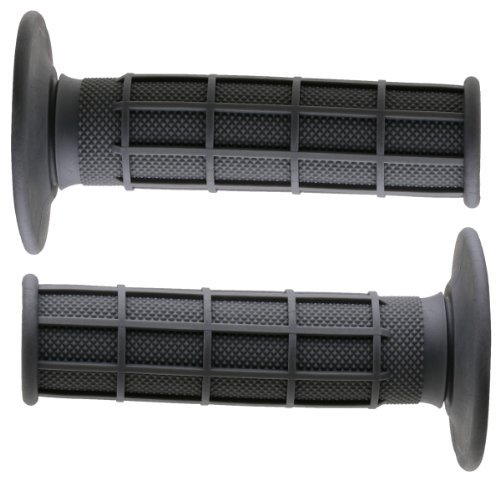 Renthal G093 Gray Full Waffle Medium Compound Motocross Grip Color: Gray Style: Medium, Model: G093, Car & Vehicle Accessories / - Mall Mo