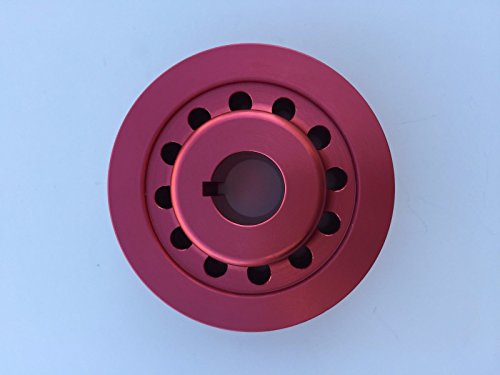 (1320 Performance supercharger pulley TRD 3.4L 5VZ-FE 5VZ 2.2 inches RED )