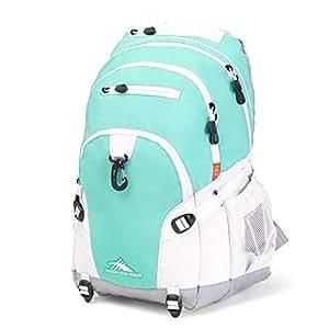 High Sierra Loop Backpack, Aquamarine/White/Ash