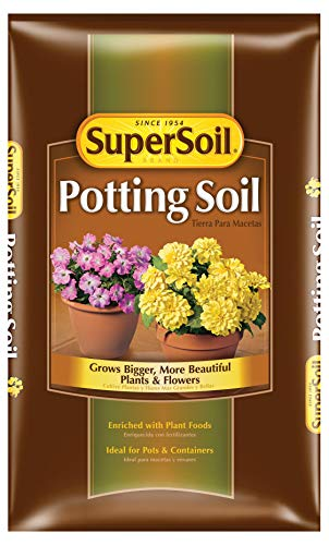 Miracle Gro 72452490 2 Cu Ft Supersoil Potting Soil 0.14-0.09-0.02 (Miracle Gro Potting Soil 2 Cu Ft)