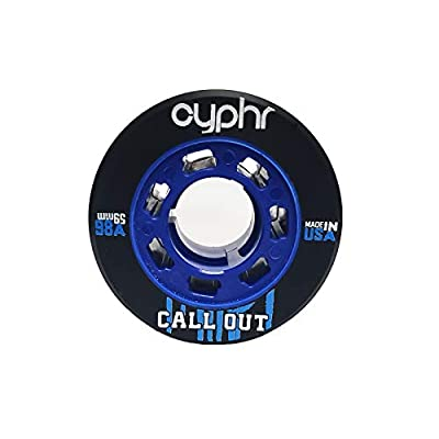 Cyphr Call Out Quad Jam Skating Wheels 4 Pack (Blue / 98A) : Sports & Outdoors