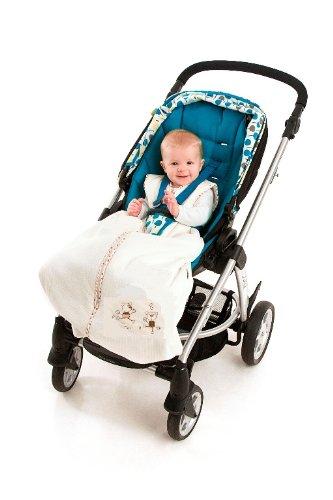 Slumbersafe Travel Baby Sleeping Bag 2.5 Tog - Dancing Bears, 6-18 months/MEDIUM
