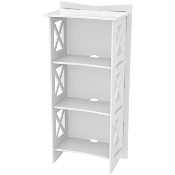 Legare Cottage Bookcase, 48 By 22 Inch, Ivory Design Inspirations