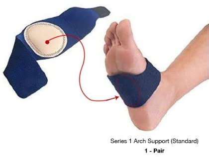 Amazon Com Arch Support Series 1 Best Cushioned Pain Relief For Plantar Fasciitis Pain In Arch Of Foot Heel Spurs Flat Feet Foot Pain Heel Pain Ball Of Foot Pain Comfortable Adjustable