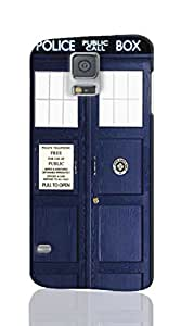 3D Rough Case, Doctor Who Tardis Door - Samsung Galaxy S5 Case, Customized Hard Unique back Cover Case for Samsung Galaxy S5 i9600 Case
