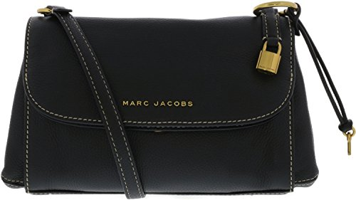 Marc Jacobs Women's Boho Grind Shoulder Bag, Black/Gold, One - Women Bags Jacobs Marc