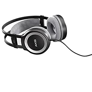 AKG K 512 MKII - Auriculares de diadema abiertos, negro, blanco