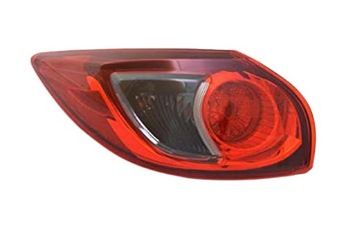 OE Replacement Tail Light Assembly MAZDA CX5 2013-2016 Partslink MA2804111 Multiple Manufacturers MA2804111N