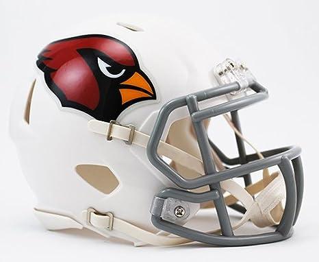 Amazon.com  Arizona Cardinals Riddell Speed Mini Football Helmet - New in  Riddell Box  Sports Collectibles e37ed50da
